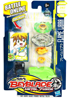 Beyblades Metal Fusion Battle Top - Flame Libra