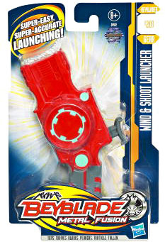Beyblades Metal Fusion - Battle Gear Wind and Shoot Launcher