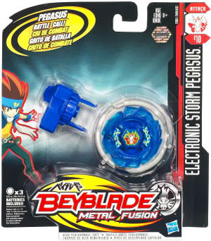 Beyblades Metal Fusion Electronic Attack Top - Storm Pegasus
