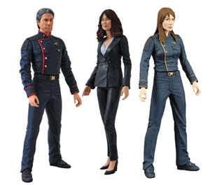 Battlestar Galactica - Series 4 Set of 3