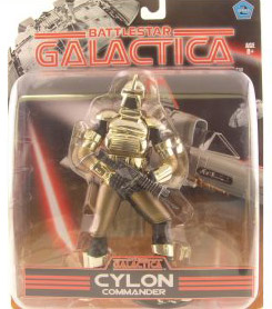 Gold Cylon Commander