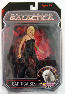Battlestar Galactica - Previews Caprica Six Exclusive