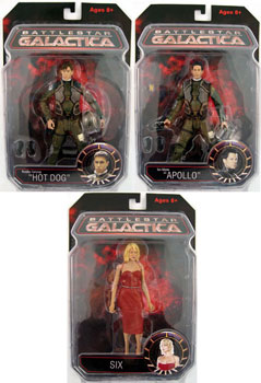 Battlestar Galactica - Series 1 Set of 3