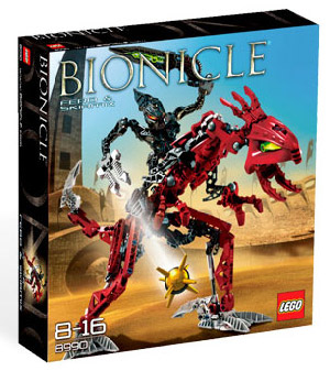 Bionicles - Glatorian Warrior Set Fero and Skirmix [8990]