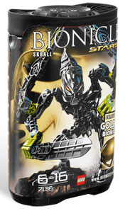 LEGO Bionicles - Stars - Skrall[7136]
