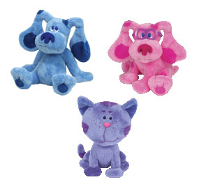 7-Inch Beanie Blues Clues Set of 3