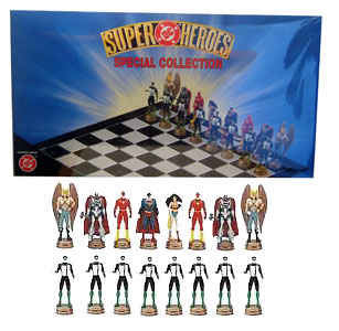 Justice League Chess Set