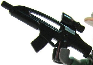 BrickArms - BLACK - AC8 Assault Rifle Weapon LOOSE