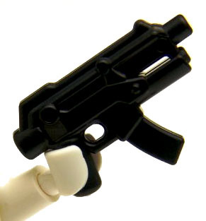 BrickArms - BLACK - Apoc SMG Weapon LOOSE