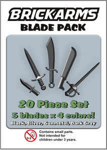 BrickArms - Blade Weapons Pack