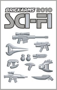 BrickArms - Sci-Fi 2010 Weapons Pack