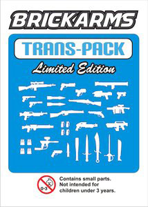 BrickArms - Trans Blue Weapons Pack[34PCS]