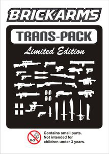 BrickArms - Trans Clear Weapons Pack[34PCS]