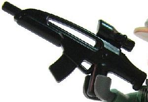 BrickArms - BLACK - AC8 Assault Rifle Weapon LOOSE
