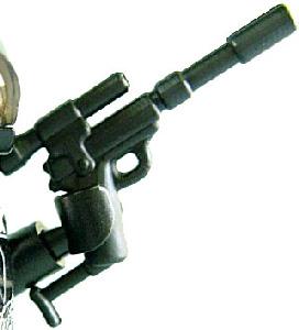 BrickArms - BLACK - Spy Carbine Weapon LOOSE