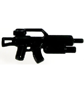 BrickArms - BLACK - Assault Carbine Modern Combat Weapon LOOSE