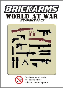 BrickArms - World At War Weapons Pack