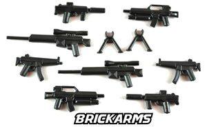 BrickArms - Black Modern Combat Weapons Pack[21PCS]