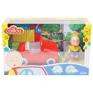 Caillou Vehicles - Car