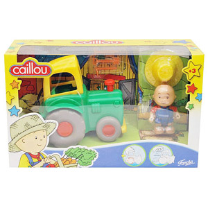 Caillou Vehicles - Tractor