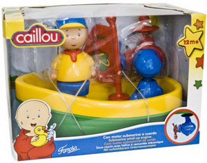 Caillou Bath Boat Version 1
