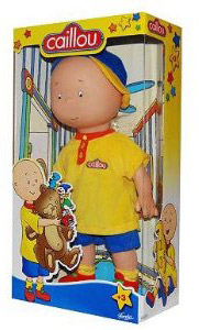 15-Inch CAILLOU CLASSIC PLUSH DOLL With Baseball Cap