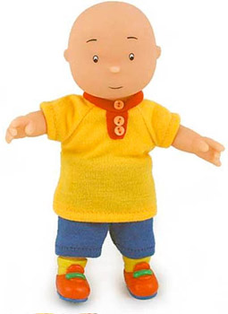 Caillou 6-Inch Doll In Play Clothes