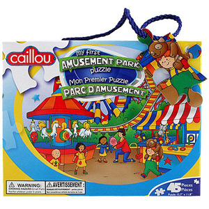 CAILLOU Puzzle 45 Pieces - My First Amusement Park