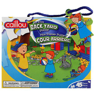 CAILLOU Puzzle 45 Pieces - My First Backyard