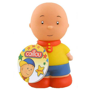 Caillou Squeaky Bath Toy
