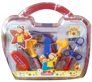 CAILLOU Medical Kit 10 Pcs Playset