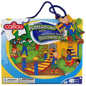 CAILLOU Puzzle 45 Pieces - My First Playground