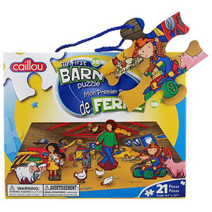 CAILLOU Puzzle 21 Pieces - My First Barn