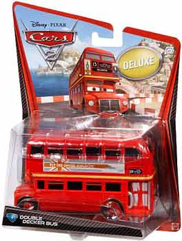 Cars 2 Movie - Oversized Double Decker Bus