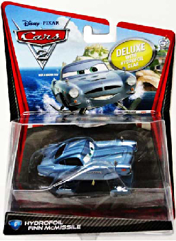 Cars 2 Movie - Oversized Hydrofoil Finn McMissle