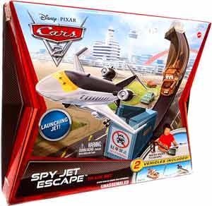 Cars 2 Movie - Sky Jet Escape Track Set