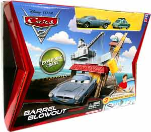 Cars 2 Movie - Barrel Blowout with Finn McMissle and Professor Z