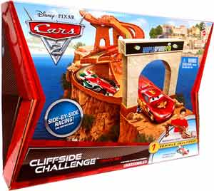 Cars 2 Movie - Cliffside Challenge Track set