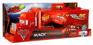 Cars 2 Movie - Mack Playcase Playset