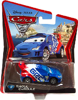 Cars 2 Movie - Raoul CaRoule