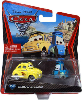 Cars 2 Movie - Guido and Luigi