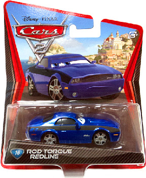 Cars 2 Movie - Rod Torque Redline