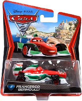 Cars 2 Movie - Francesco Bernoulli