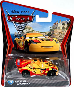 Cars 2 Movie - Miguel Camino