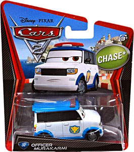 Cars 2 Movie - Officer Murakami Chase
