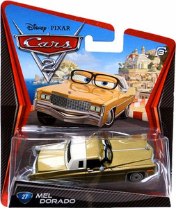 Cars 2 Movie - Mel Dorado