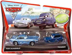 Cars 2 Movie - 2-Pack - Finn McMissile and Tomber