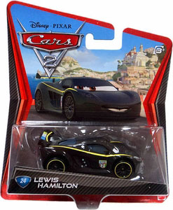Cars 2 Movie - Lewis Hamilton
