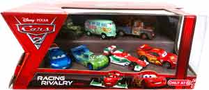 Cars 2 Movie - Racing Rivalry 7-Pack