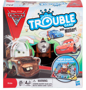 Disney Cars 2 Movie - Trouble